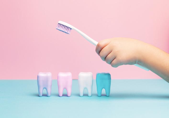 zähne putzen beim baby